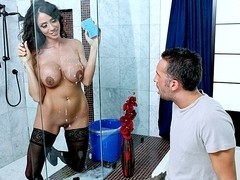 Laying the Cleaning Lady