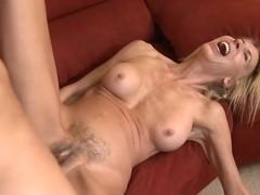 Chris Johnson & Erica Lauren, sex on a sofa
