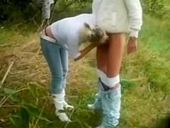 A cock drills rough my teen yum-yum