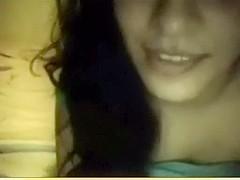 Solo hawt indian masturbating on webcam
