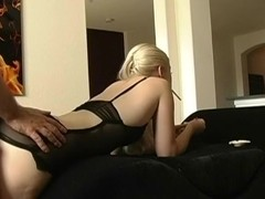 Crazy smoking movie with blonde, couple scenes
