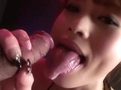 Hottest Japanese girl Miina Yoshihara in Fabulous JAV uncensored Blowjob scene
