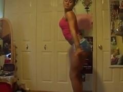 Most Good twerking cam dance clip
