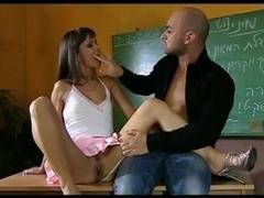 Classroom anal fuck