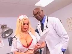 Nurse with big breasts