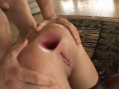 Kelly Wells double anal group sex