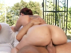 Keiran Lee came to satisfy two appetizing sweeties Kelly Divine and Sophie Dee
