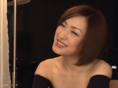Horny Japanese slut Nene Iino in Best JAV uncensored Blowjob scene