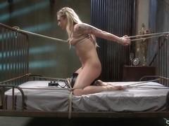 Dahlia Sky endures extreme bondage and brutal torture