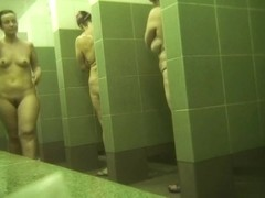 Hidden cameras in public pool showers 948