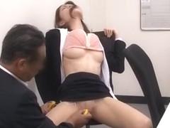Fabulous Japanese whore Yuria Sonoda, Maomi Nagasawa, Meisa Asagiri in Crazy Hairy, Cunnilingus JA.
