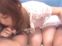 Crazy Japanese girl Yuria Kiritani in Incredible Facial JAV movie