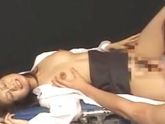 Horny Japanese chick Shiori Mizuno in Best Cunnilingus JAV movie