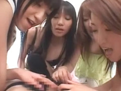 Best Japanese slut Megu Shirosaki, Airi Nakashima, Hina Otsuka in Amazing Girlfriend, Group Sex JA.