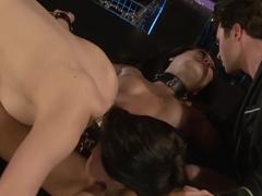 Hottest pornstars Bobbi Starr and Asa Akira in crazy hairy, dildos/toys sex movie