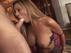 Best pornstar Demi Delia in crazy blonde, cumshots adult scene