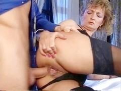 Older  Oma underware anale