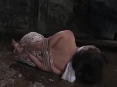 Filthy asian doxy Lie Lani in Waterbondage