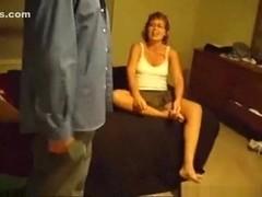 Nympho milf ruthie fucks a stranger for creampie