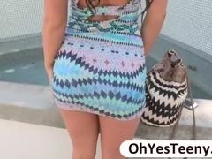 Hottie teen Kelly Diamond devours a huge cock in hardcore sex