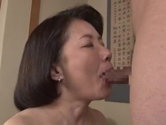 Big-titted Japanese milf in a hardcore action