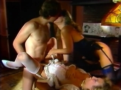 Danielle, Jacqueline Lorians, Nikki Charm in classic fuck video