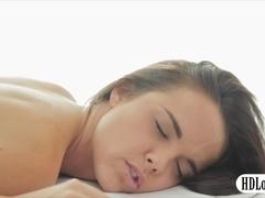 Hot ass brunette babe Dillion Harper fucked by masseur