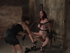 Horny ebony, fetish porn video with incredible pornstars Mz Berlin and Princess Donna Dolore from .