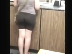 hidden post office line yoga butt