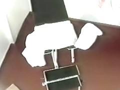 Medical voyeur video with blonde mature