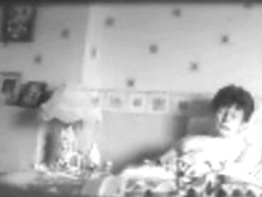 My mum having orgasm on bed. Hidden cam