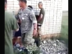 Russian Soldiers Fuck A Whore And Receives Cheered On