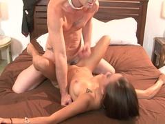 Horny pornstar Ariel Rose in Incredible Medium Tits, Redhead sex video