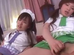 Exotic Japanese model Kanon Miwa, Kanako Tsuchiya, Miyu Hoshino in Horny Stockings/Pansuto, Finger.