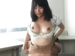 Exotic Japanese girl Yuzuka Kinoshita in Hottest Cunnilingus, Big Tits JAV video