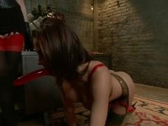 Hottest fetish, fisting adult scene with amazing pornstars Chanel Preston, Dana DeArmond and Derri.