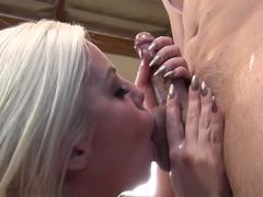 Hottest pornstars Jenna Moretti, Jayden Lee, David Loso in Fabulous Group sex, Cumshots sex scene