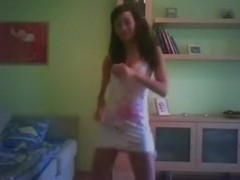 Hot latin  immature obscene dancing