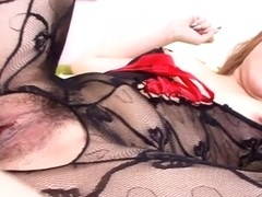 Exotic Japanese chick Hatsuka Kobayashi in Horny JAV uncensored Creampie clip
