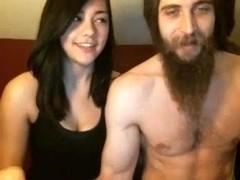 Pleasure pair on webcam