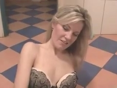 Czech milf gets fucked in bathroom of apub