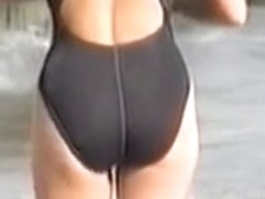 Candid bikini beach scenes shot on the video camera 07zv