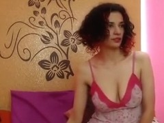 Rose4all plays with hairy pussy