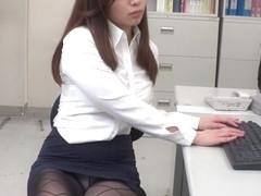 Exotic Japanese model Remi Sasaki, Ren Ayase, Miyuki Ojima, Hikaru Shiina in Hottest secretary, co.