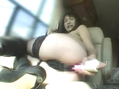 Incredible Japanese slut Marie Kurosawa in Exotic Masturbation/Onanii, Fishnet JAV video