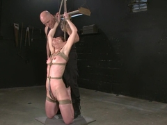 Exotic anal, fetish xxx scene with best pornstars Derrick Pierce and Delilah Knight from Dungeonsex