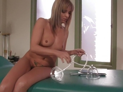 Hottest squirting, fetish sex scene with exotic pornstar Lexi Love from Fuckingmachines