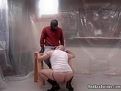 Weird beefy gay fucked hardcore