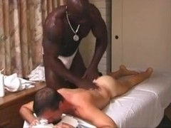 Ardent Gay massage with a Biggest BBC by TROC