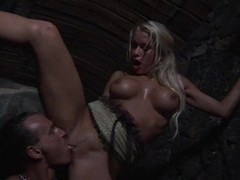 Nasty whore gets her ass fucked and jizzed